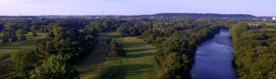 Cannon Golf Club golf course view from above